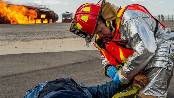 910th members took part in a multi-agency anti-hijacking exercise.
