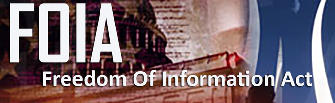 Freedom of Information Act Banner